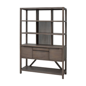 Hopper Bookcase Hutch