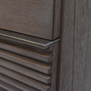 Slatted File Drawer Fronts on the Avant Desk