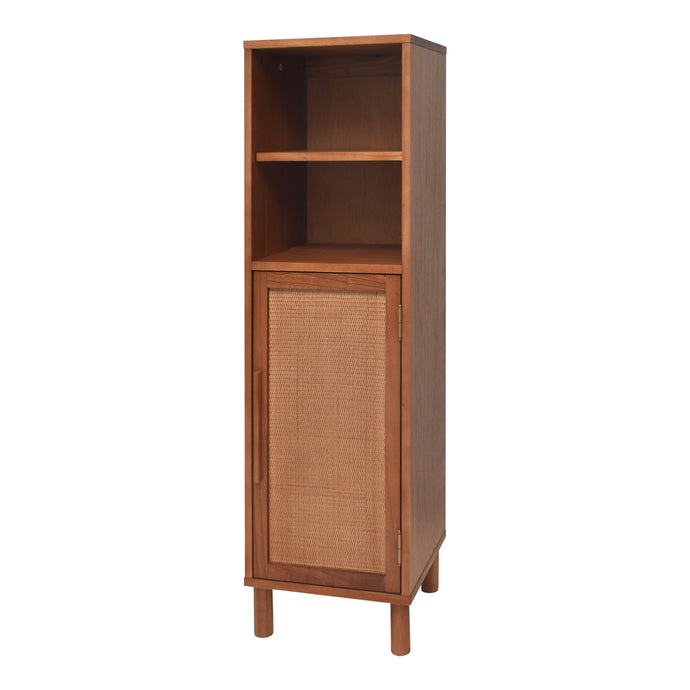 Delancey Light Blond Cabinet Tall Linen Cabinet