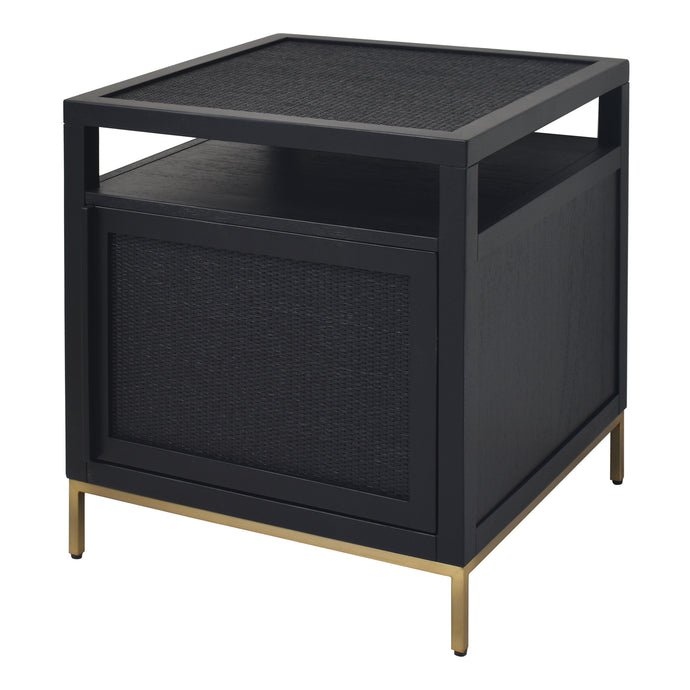 Delancey Black End Table