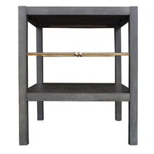 Load image into Gallery viewer, Lagoon End Table - Antique Black