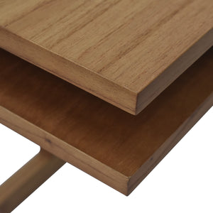 Leroy C Table Wood Finish in Light Blonde