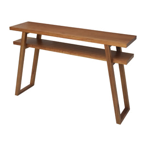 Leroy Console Table with Warm Tones