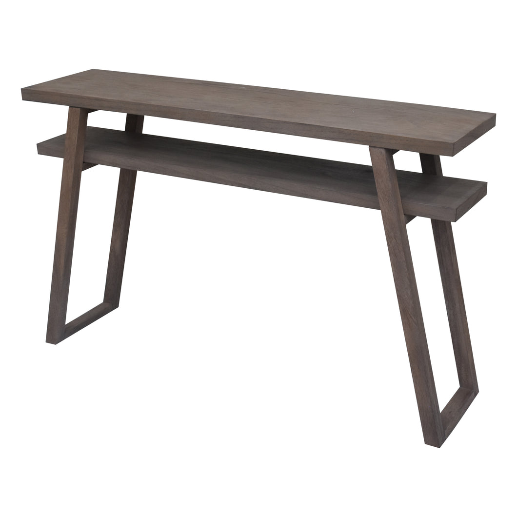 Rustic Grey Leroy Console Table