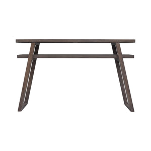 Leroy Console Table with Convenient Open Storage Space Underneath Table Top