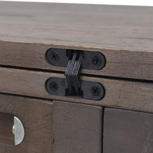 Load image into Gallery viewer, Versatile Foldable Hinges of Louise Convertible Console to Dining Table