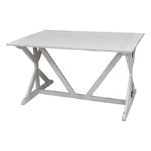 Load image into Gallery viewer, White Louise Convertible Console to Dining Table