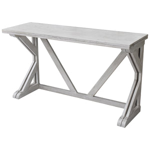 Alternate Conversion of Louise Convertible Console to Dining Table from Hopper Studio