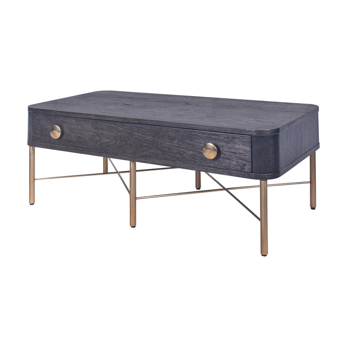 Milan Coffee Table - Antique Black