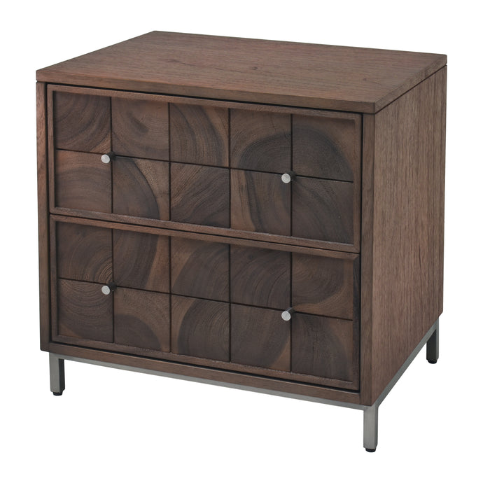 Noona 2 Drawer Nightstand