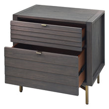Load image into Gallery viewer, Portland Nightstand Comes with Two Large Drawers for Lots of Storage