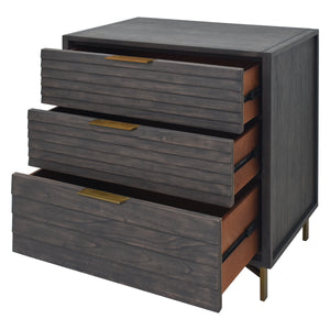 Tip Over Restraint Included with Portland 3 Drawer Chest