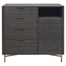 Load image into Gallery viewer, Front View of Portland 4 Drawer Door Chest