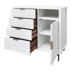 Ample Storage Chest with Tip-Over Restraint Included from Hopper Studio