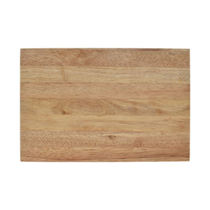The Hopper Rubberwood Cutting Board Set Comes with Multiple Size Pairings