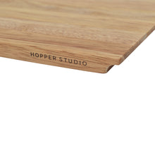 Load image into Gallery viewer, Closeup of Small Rubberwood Cutting Board from Hopper Studio