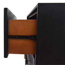 Load image into Gallery viewer, Side View of Open Drawer on Sophia 3 Drawer Chest