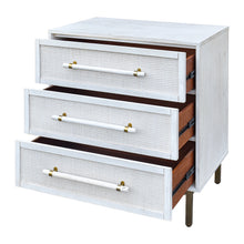 Load image into Gallery viewer, Sophia 3 Drawer Chest - Antique White