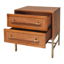 Load image into Gallery viewer, Sophia 2 Drawer Nightstand