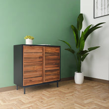 Load image into Gallery viewer, Meridian Teak 2-Door Cabinet