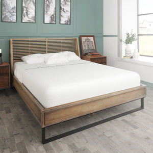 Avant Brown Queen Bed