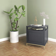 Load image into Gallery viewer, Delancey Black End Table
