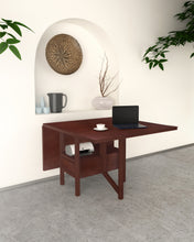Load image into Gallery viewer, Henry Dining Table in Room with Leaf Folded Down