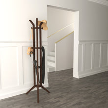 Load image into Gallery viewer, Multi-Functional Mid-Century Design of Jones Entryway Coatrack