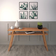 Load image into Gallery viewer, Modern Angular Design of Leroy Console Table in Blonde