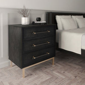 Hopper Studio Sophia 3 Drawer Chest in Bedroom