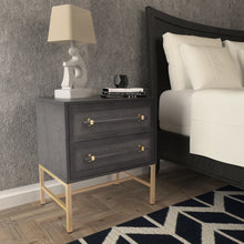 Load image into Gallery viewer, Hopper Studio Sophia 2 Drawer Nightstand