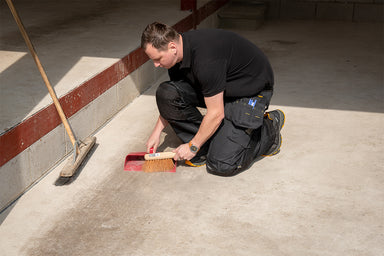 Solutions for Dusty Garage Floor
