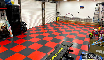 Benefits of PVC Flooring for Your Home Gym