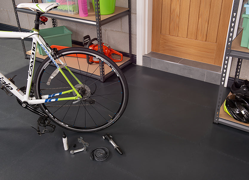 Workshop Flooring - Bike Repair