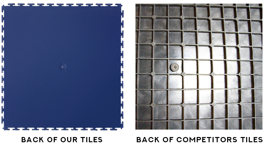 Our tiles vs Competitors