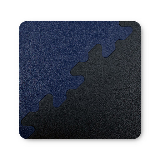 X Joint Blue & Graphite - Coaster Sized Sample