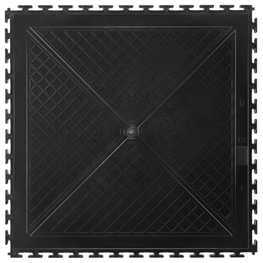 Back of Black 50cm Floor Tile