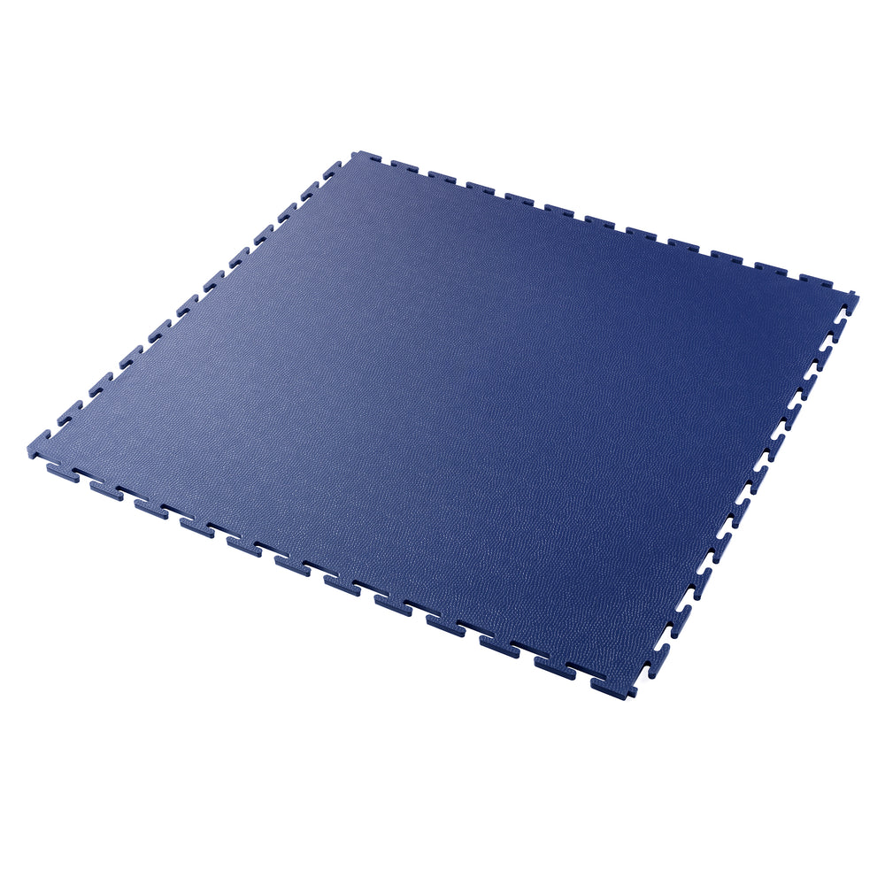 Garage Floor Tile Company's EasyTile In Solid Blue Thumbnail