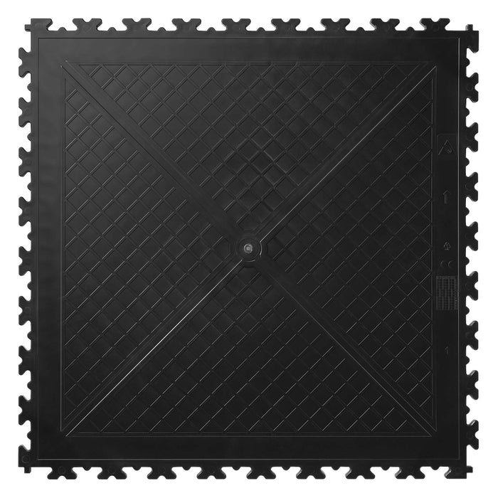Full Size x Joint Tile in Black
