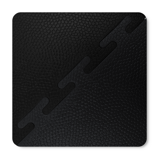 Black & Graphite - Coaster Sized Sample