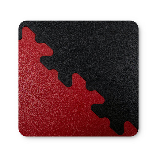 X Joint Black & Red - Coaster Sized Sample