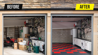 Before and After Garage Transformation