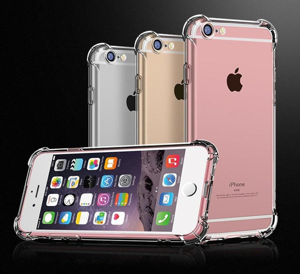 Trendy iPhone Shockproof Clear Soft Case