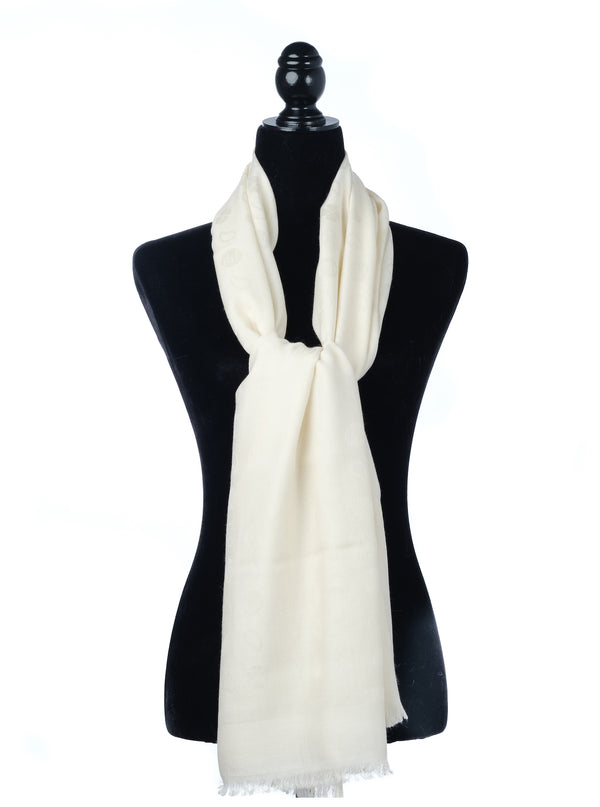 cashmere silk wool oblong scarf
