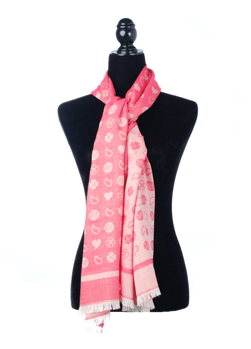 cashmere wool silk oblong scarf