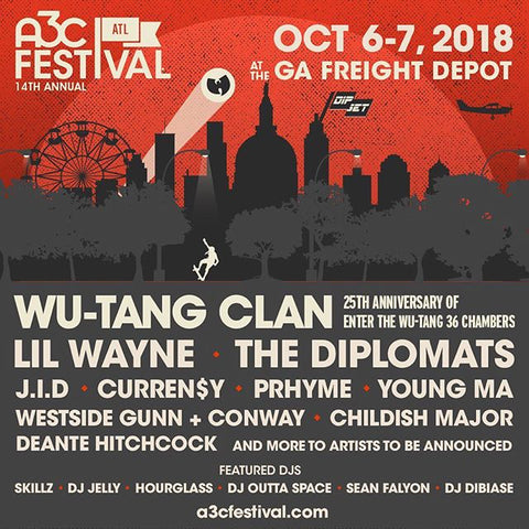 Wu-Tang Clan – AC3 Festival Oct. 6-7
