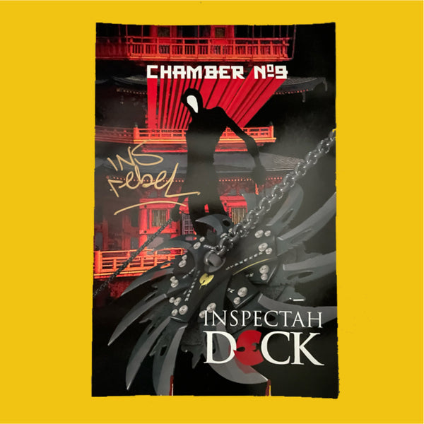 LIMITED EDITION* CHAMBER NO. 9 AUTOGRAPHED POSTER