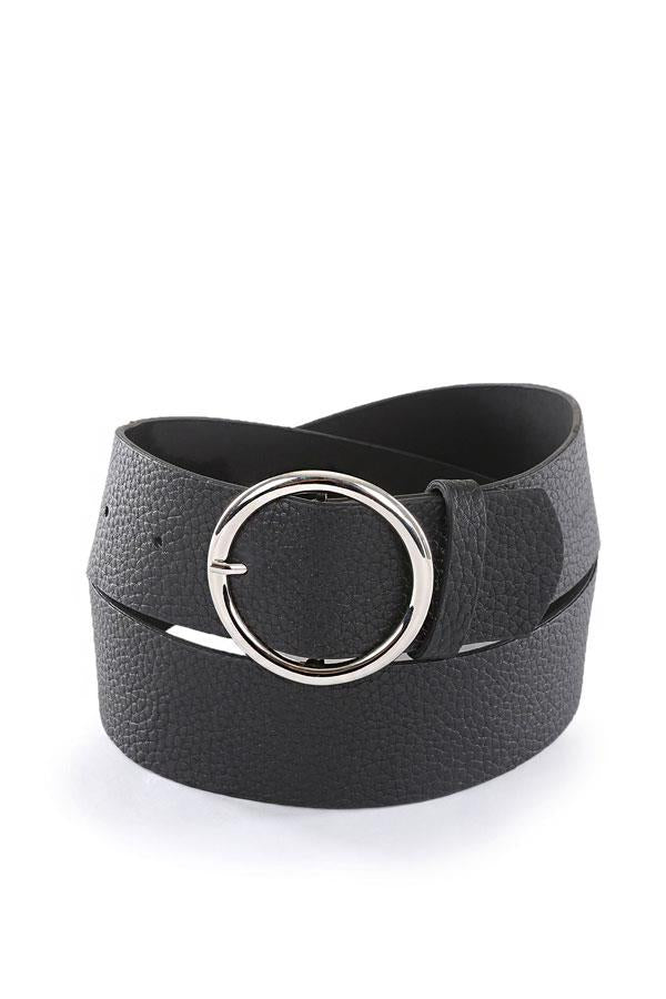 Women' Round Buckle Belt
