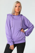 Load image into Gallery viewer, Women's Hooded Kangaroo Pocket Sweatshirt