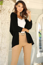 Load image into Gallery viewer, Women's Basic Black Cardigan
